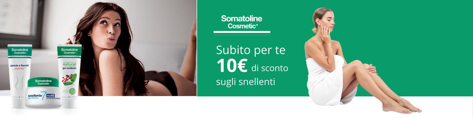 Somatoline sconto 10€